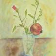 255 柘榴の花と実