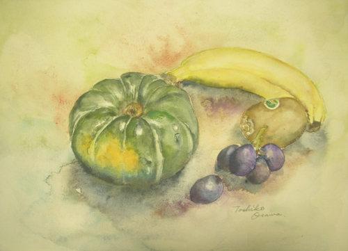 177 南瓜とあり合せの果物