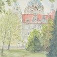 35 ドイツ・ハノーファーの市庁舎